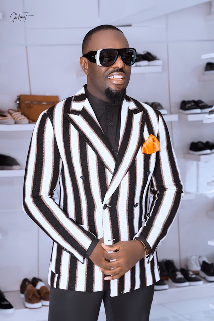 Photos: Jim Iyke signs multi million ambassador deal with Wear It All men