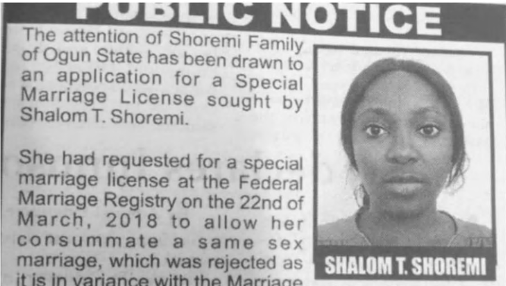 Nigerian family disowns daughter seeking to marry anotherwoman!