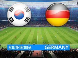 2018 World Cup:- South Korea Vs Germany (FullTime)