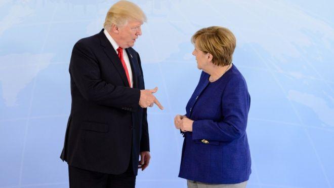 German car shares dip on Trump tarifftweet