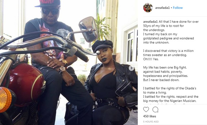 Charly Boy Becomes A Gay Rights Activist