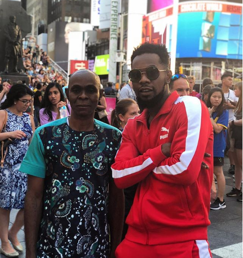 Patoranking And His Father Holiday In New York (Photo)