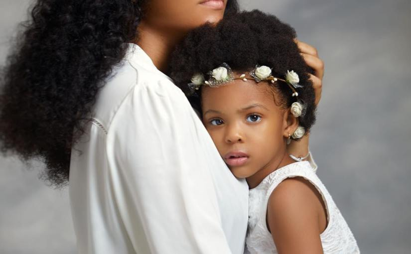 Beauty queen Anna Ebiere Banner Releases Adorable Photos As Her Daughter Turns3