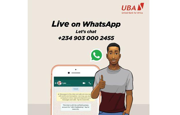 UBA's Leo launched onWhatsApp