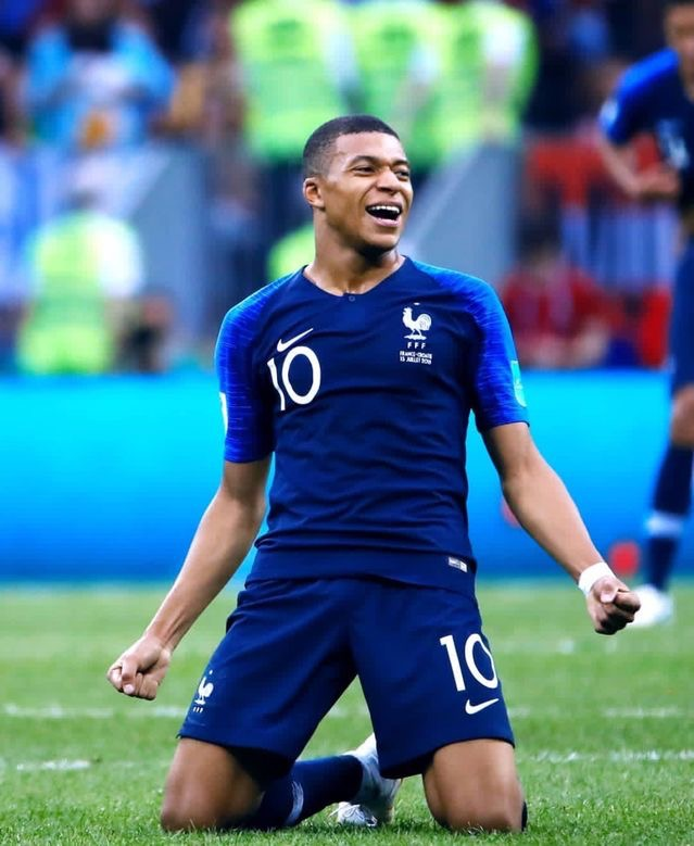 Mbappe named best French player of the year