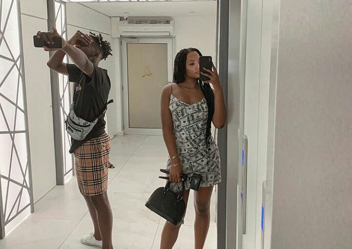 'Stay By Plan' – Mr. Eazi Shares New Year Photo With Temi Otedola