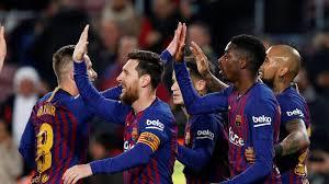 Barcelona qualify for Copa Del Rey QuarterFinal