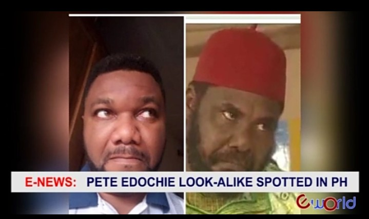 See Actor Pete Edochie's Lookalike Spotted In PortHarcourt