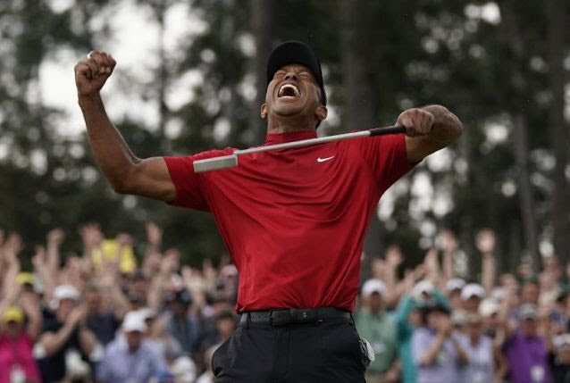 Tiger Woods completes sports greatestComeback