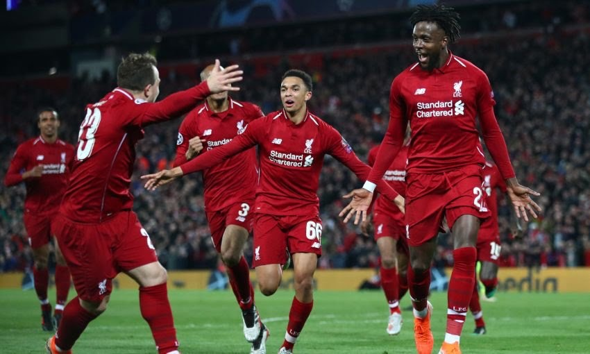 Liverpool produce Europe's greatest comeback